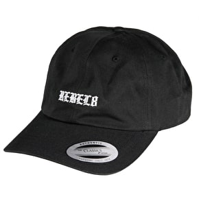 Rebel8 Olde Strapback Cap - Black
