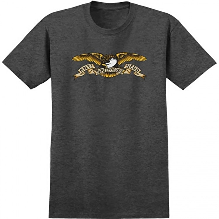 Anti Hero Eagle T-Shirt - Charcoal Heather
