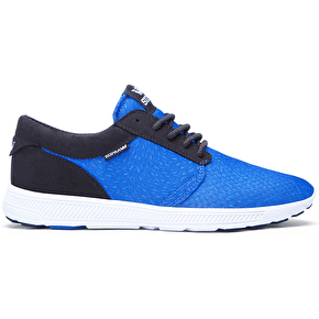 Supra Hammer Run Shoes - Royal Print/Black/White