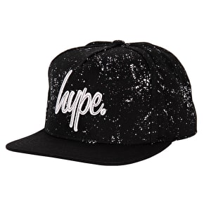 Hype Speckle Stitch Snapback Cap - Black/White