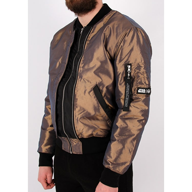 Hype Star Wars Fighter Bomber Jacket - Iridescent