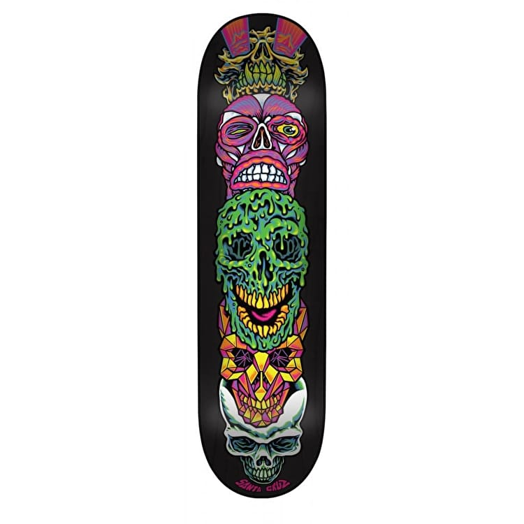 Santa Cruz Vivid Stack Branded Skateboard Deck - Multi 8.125""