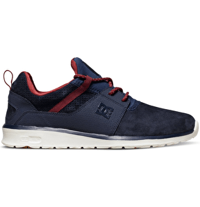 DC Heathrow LE Shoes - Navy/Red