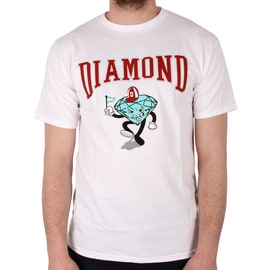 Diamond Supply Co Team Mascot T-Shirt - White