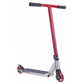 Crisp Inception 2015 Complete Scooter - Silver/Red