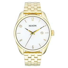 Nixon Bullet Womens Watch - Gold/White