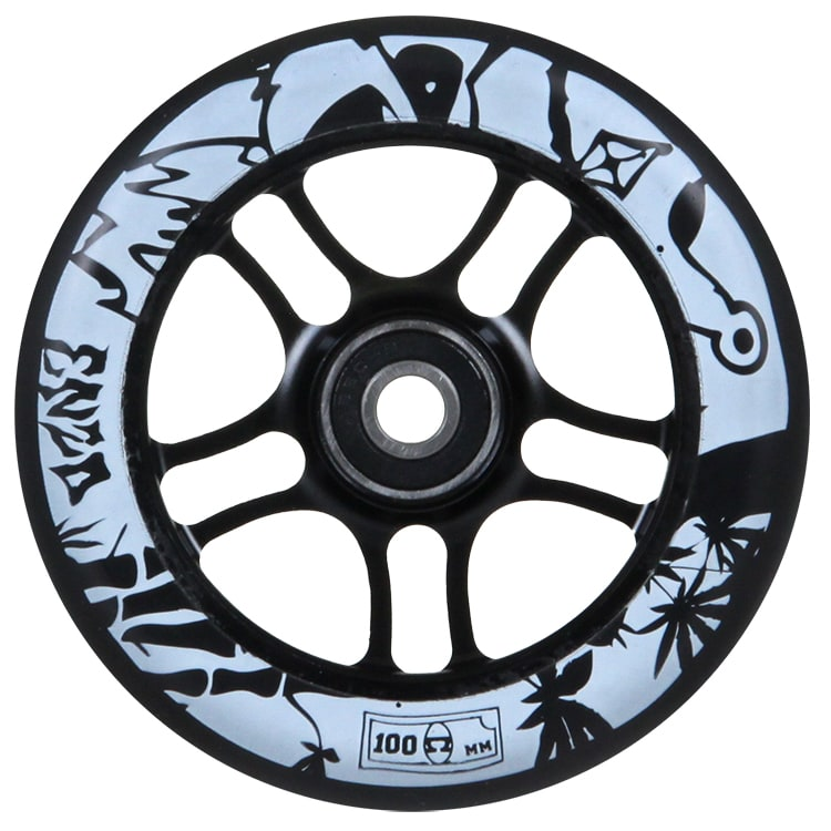 AO 100mm Enzo Scooter Wheel - Black