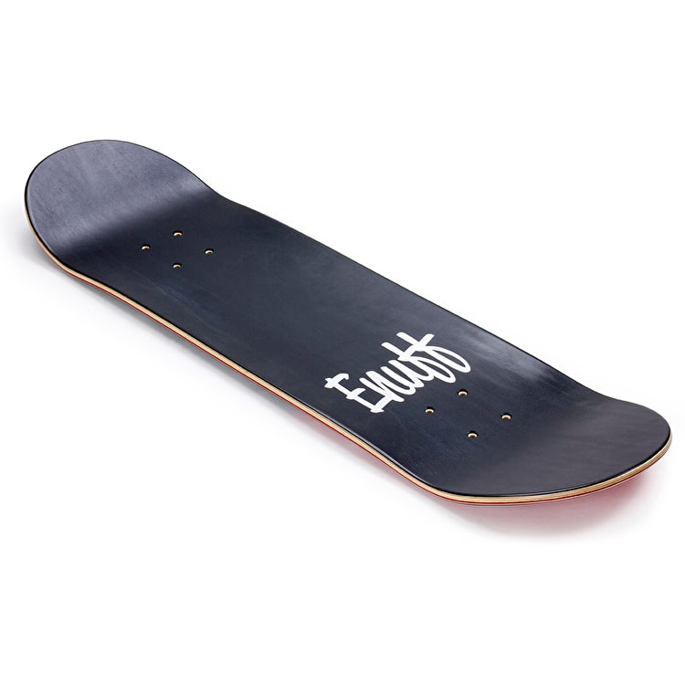 Enuff Dip Stained Skateboard Deck - Black/Red