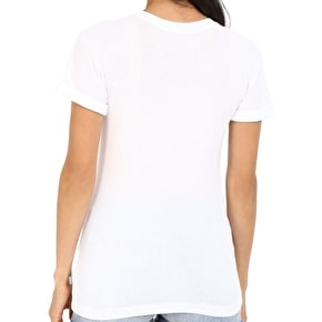 Vans Printed Out Skate Womens T-Shirt - White