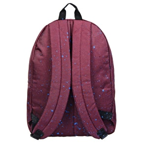 Hype Speckle Backpack - Burgundy/Navy