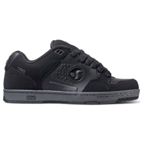 DVS Discord Shoes - Black/Grey Trubuck
