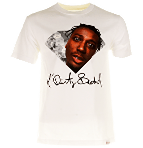 Diamond x ODB Dirty Mind T-Shirt - White