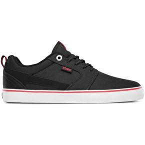 Etnies Rap CT Shoes - Black/White/Red