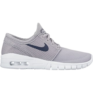 Nike SB Stefan Janoski Max (GS) Kids Skate Shoes - Wolf Grey/Black