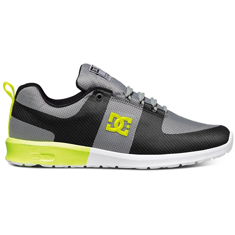 DC Lynx Lite R Shoes - Grey/Yellow