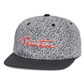 Primitive Channel Zero Snapback Cap - Static/Black