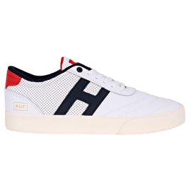 Huf Galaxy Skate Shoes - White/Antique