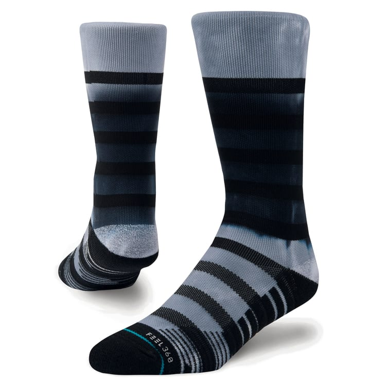 Stance Intercept Crew Socks - Black