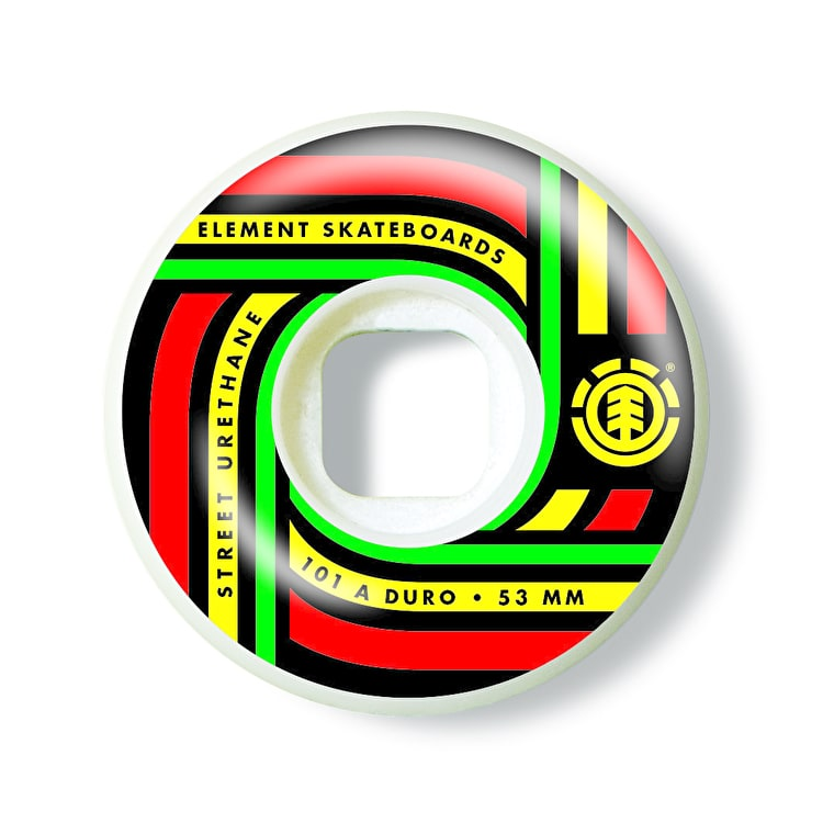 Element Sonic Skateboard Wheels - Street 53mm