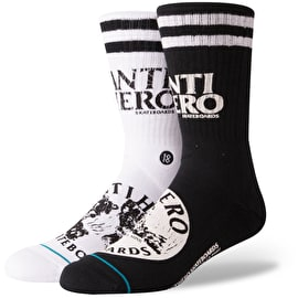 Stance Anti Hero Socks - Black