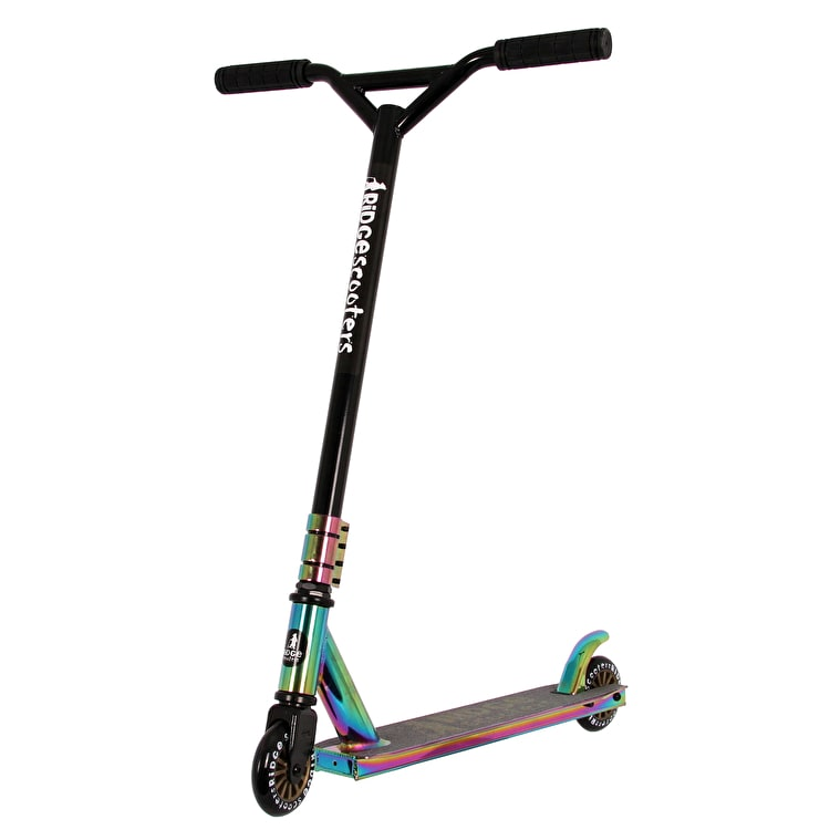 Ridge XT Pro 100 Complete Scooter - Neochrome/Black