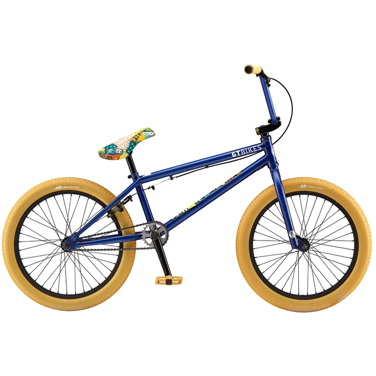 "GT 20"" Performer Pro 2019 Complete BMX Bike - Blue"