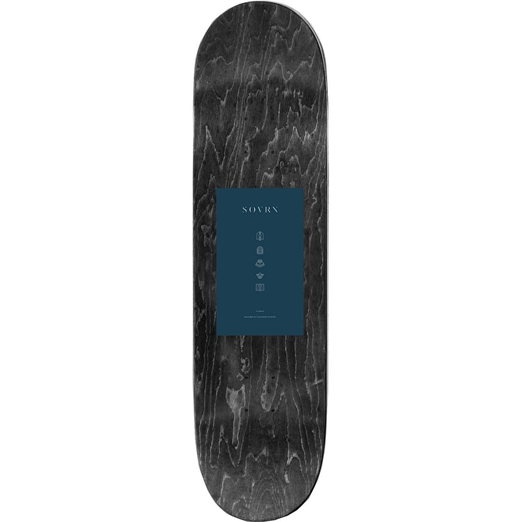 SOVRN Filtrate Skateboard Deck - 8""