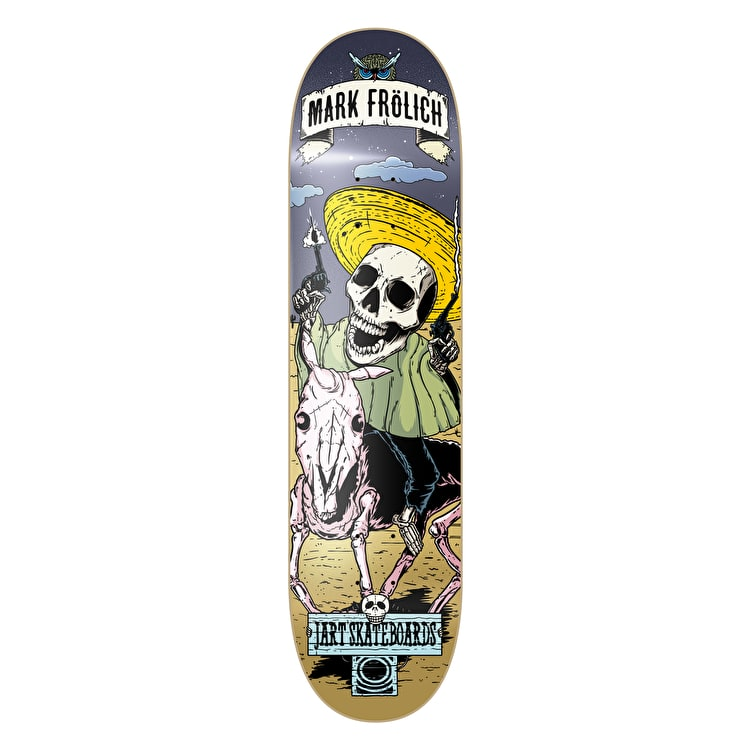 Jart Skateboard Deck - Party Frolich 8.25""