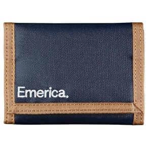 Emerica Pure Wallet - Blue/Tan
