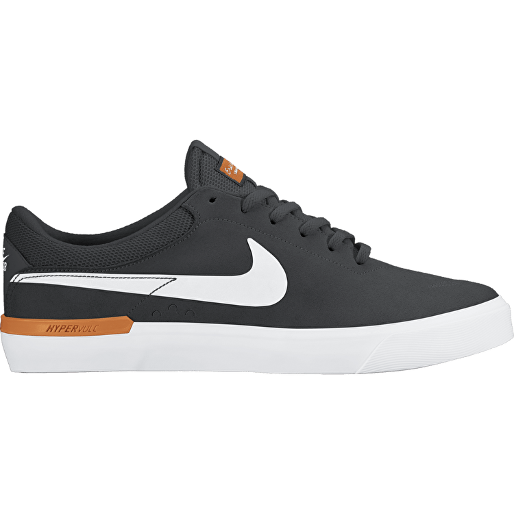 Nike SB Koston Hypervulc Skate Shoes - Anthracite/White