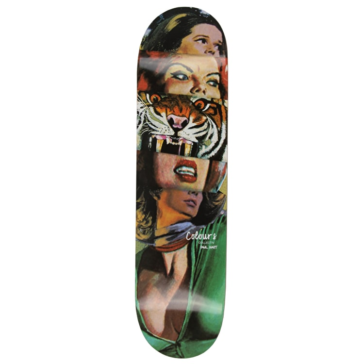 Colours Collectiv Paul Hart Tiger Lady Skateboard Deck 8.1""