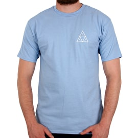 Huf Good Trips Triangle T Shirt - Ballad Blue