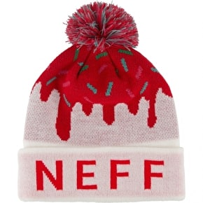 Neff Womens Sweet Beanie - Red