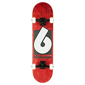 Birdhouse Stage 3 B Logo Complete Skateboard - Red 8