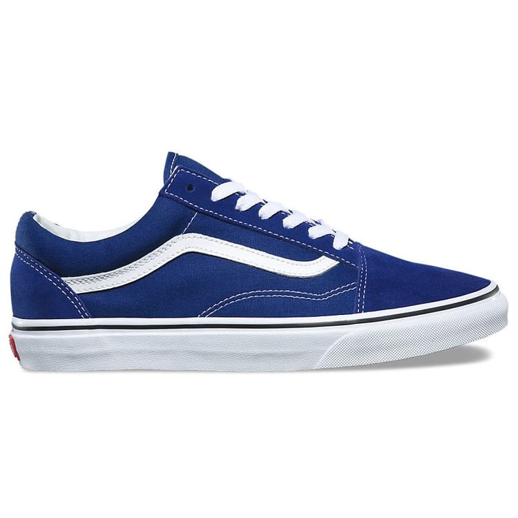 Vans Old Skool Skate Shoes - Estate Blue/True White