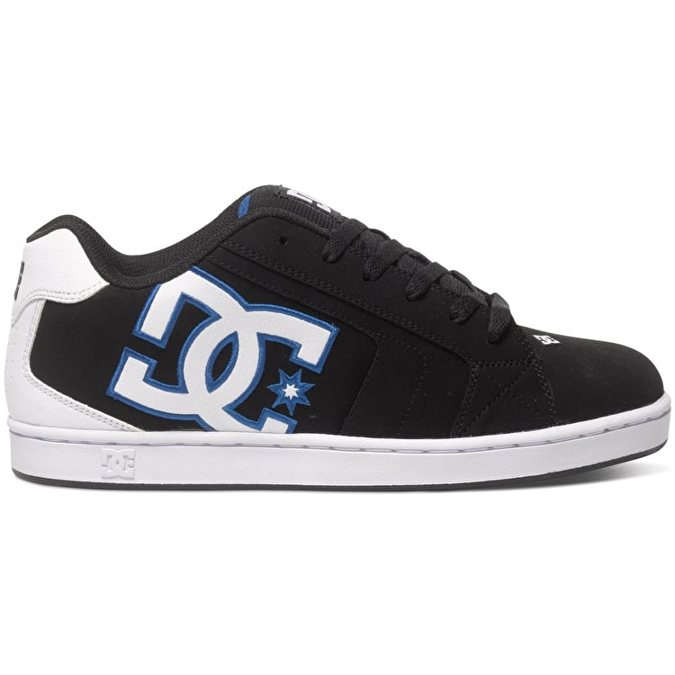 DC Net Shoes - Black/White/Blue