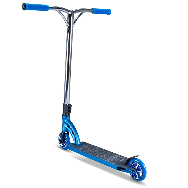 MGP VX7 Team Stunt Scooter - Electric Blue/Chrome