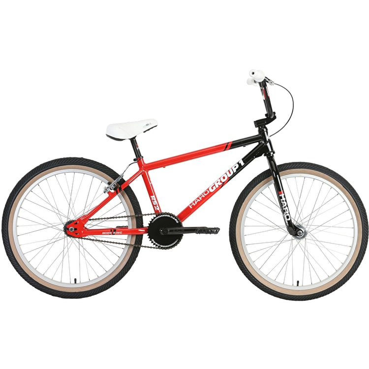 "Haro Group 1 RS-2 Cruiser 24"" 2019 Complete BMX - Black/Red"