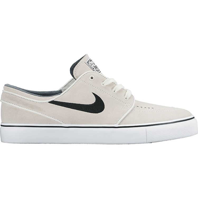 Nike SB Zoom Stefan Janoski (Suede) Shoes - Summit White/Black/White