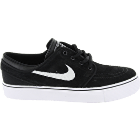 Nike Stefan Janoski Kids' Shoes - Black/White/Gum