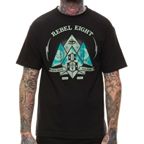 Rebel8 Fate For None T-Shirt - Black