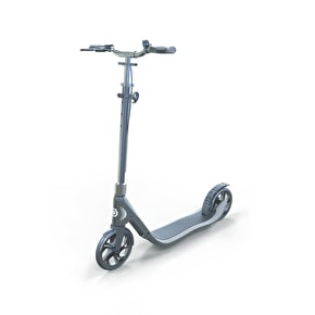 Globber One NL 205 Deluxe Complete Scooter - Titanium/Lead Grey