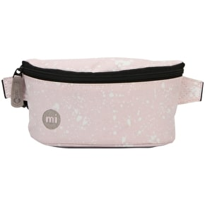 Mi-Pac Splattered Slim Bum Bag - Pink