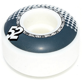 Fracture Drops Skateboard Wheels - Grey 52mm