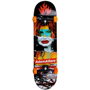 Black Label Alfaro Faded Beauty Custom Skateboard 8.68