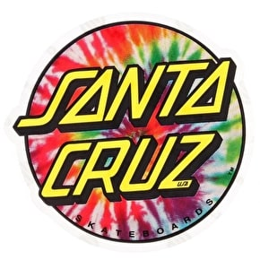 Santa Cruz Sticker - Tie Dye Dot