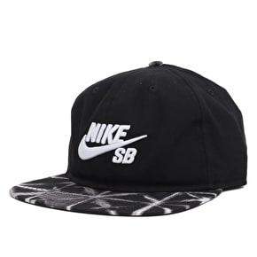 Nike SB Seasonal Strapback Cap - Black/Black/White