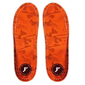 Footprint Kingfoam Orthotic High Profile Insoles - Orange Camo