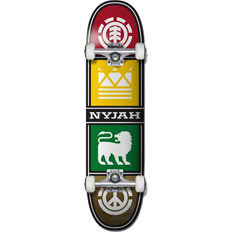 Element Quadrant Twig Complete Skateboard - Nyjah 7.6""