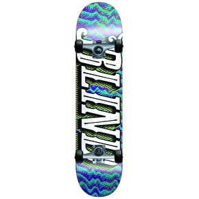 Blind Lineup Complete Skateboard - Purple/Teal 7.5